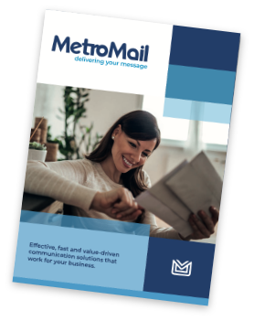 MetroMail brochure cover
