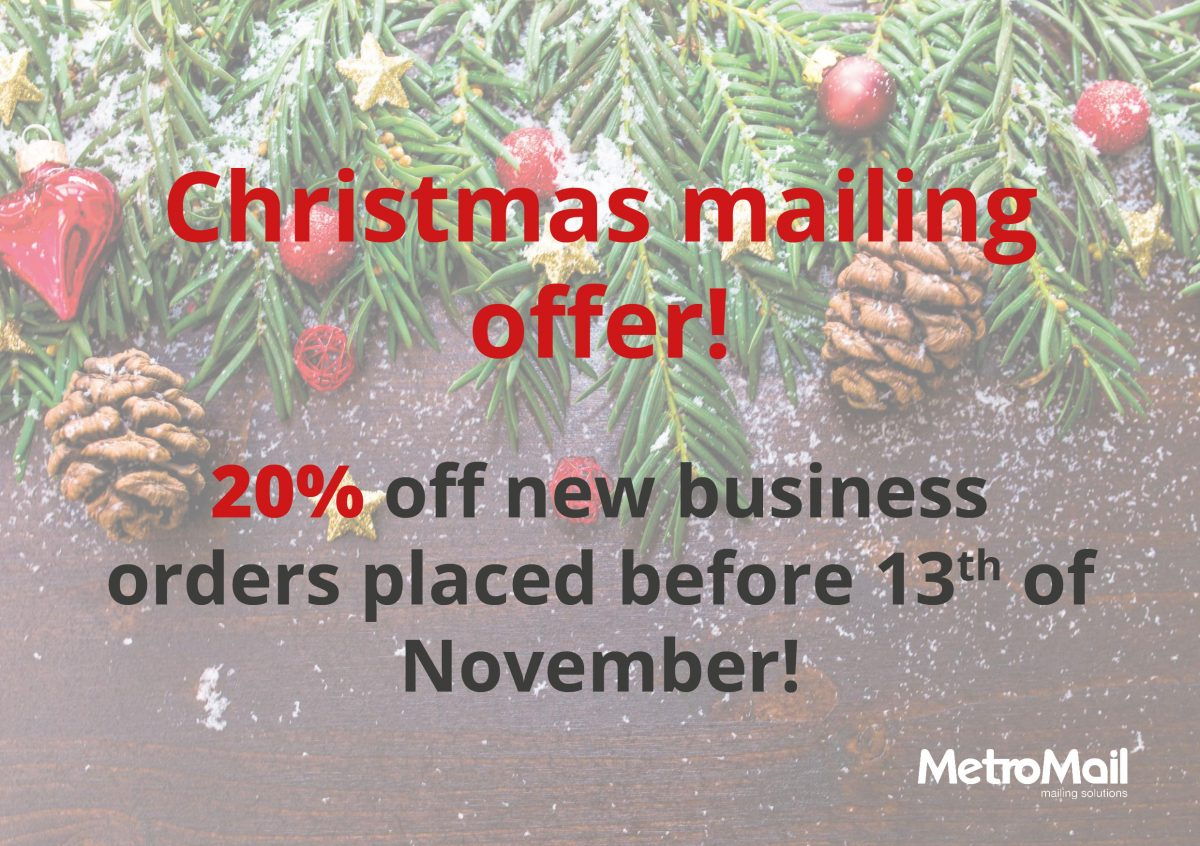 Christmas mailing offer